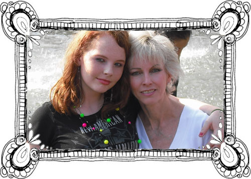 maureen anderson & her daughter